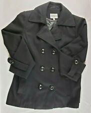 Fashion Bug Black Women's Pea Coat size XL