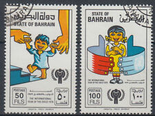 Bahrein 1977 mi.282/83 fine used Bambini Children [gb076]