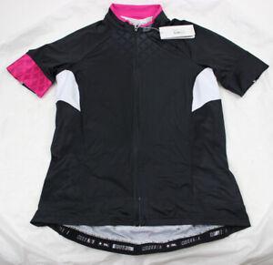 Specialized Women's SL Pro Short Sleeve Jersey, Black/Pink, Large