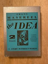 IDEA / STORY WITHOUT WORDS By Frans Masereel - Hardcover boxed edition 1991
