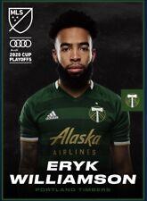 [DIGITAL CARD] Topps Kick - Eryk Williamson - MLS 2020 Playoffs - Team Color
