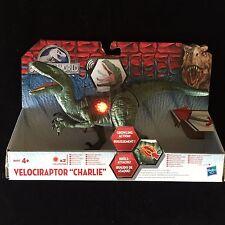 Jurassic Park World 'Charlie' Velociraptor Growling Action Figure Dinosaur Toy
