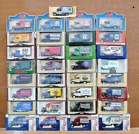 LLEDO DIECAST MODELS 1935 MORRIS PARCELS VAN - CHOOSE FROM LIST LOT 52