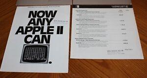 6 - Northwest Instruments > Apple II MacIntosh 1983 Trade Dealer Brochures Specs