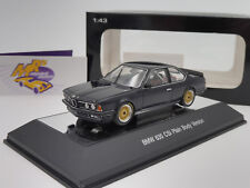 "AUTOart 68444 # BMW 635 CSi Baujahr 1984 Plain Body Version "" dunkelblau "" 1:43"