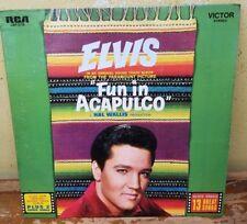 ELVIS PRESLEY Fun In Acapulco +2 German RCA 1985 reissue vinyl LP 50th annivers.