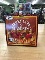 Hi Mountain Make Your Own Jerky - Cure & Seasoning - INFERNO Blend - Fun & Easy