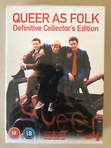 Queer As Folk Series 1 & 2 Box Set DVD.