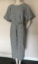 ZARA FAMOUS HOUNDSTOOTH DRESS KATE MIDDL AMANDA HOLDEN'S ,size M, 12/14