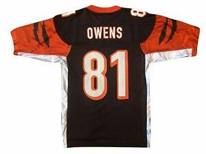 Reebok TERRELL OWENS #81 CINCINNATI BENGALS NFL FOOTBALL JERSEY MEN'S MEDIUM NWT