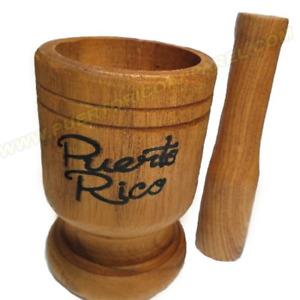 Puerto Rico Pilon - Pilon de Madera