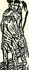 Reck Albert Christoph - Sud Africa linoincisione1969 dim foglio 43x60 cm