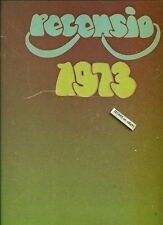 1973 NORTH ROCKLAND HIGH SCHOOL YEARBOOK, THIELLS, NY, ROGER DEAN YES COVER ART