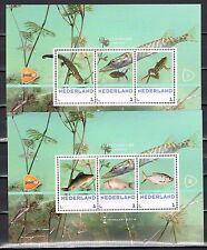 Nederland 2014 Postzegelbeurs Hilversum blokjes 3012-C-14/15 nrs 1-2