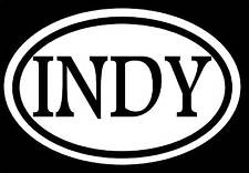 INDY STICKER DECAL INDIANAPOLIS NASCAR RACE PACERS INDIANA BASKETBALL CITY LOVE