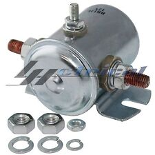 Starter Solenoid Switch 12Volt 3 Terminal Heavy Duty Winch Marine Continuous 85A