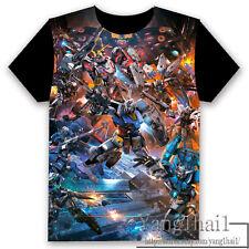 GUNDAM Anime Otaku Short Sleeve Unisex T-shirt Tops Cool S-XXXL Summer #P-249