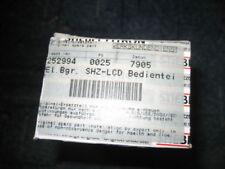 STIEBEL ELTRON El.Bgr. SHZ-LCD Bedienteil Ers. 252994 NEU&OVP