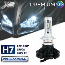 LICHT H7 1 LAMPE LED X3 12V 4000 LUMEN FUR BMW S 1000 R 14
