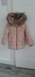 River Island Toddler Girls Puffa Coat Jacket