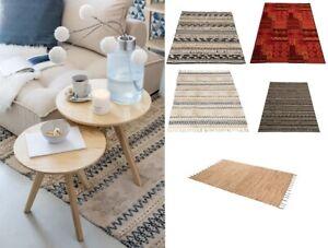 Boho Ethnic Tribal Style Large Rug Hallway Living Dining Room Kitchen Carpet Mat