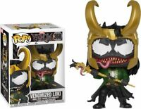 Exclusive Venomized LOKI Funko Pop Vinyl New in Mint Box