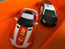 Carrera Go 64031 +64122 Camaro Cheriff + Mercedes Fire Brigade Flashing Light