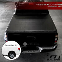 For 2014-2019 Toyota Tundra 6.5 Ft Bed Lock & Roll Up Soft Vinyl Tonneau Cover