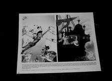 Original WALT DISNEY PETER PAN Periodical Press Kit Still #7   CAPTAIN HOOK