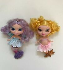 "Barbie Fairytopia Merfairies Mermaid Mermaidia 5"" Dolls 2003 Toy Bundle"