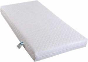 COT BED Mattress Fully Breathable Poly Cotton Cover Foam Filling Mattress BABY