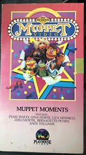 Jim Hensons The Muppet Video Muppet Moments 1985 Comedy VHS Tape