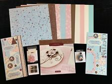 Ctmh Topstitch Paper Pack Lot Pinwheels Stickease Stamps Baby Girly Fun Acc's