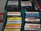 Music Cassettes , Assorted Lot of 30 , Holly , Elvis , Mathis , Oldies , Ross
