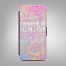 I Believe in unicorns galaxy FLIP PHONE CASE COVER fits IPHONE SAMSUNG
