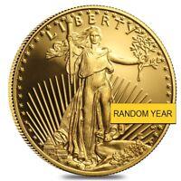 1/2 oz Proof Gold American Eagle In Cap (Random Year)