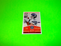 TORONTO ARGONAUTS SPENCER WATT OPC OPEE CHEE UPPER DECK CFL FOOTBALL CARD # 45