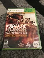 Medal of Honor Warfighter [ Limited Edition ] (XBOX 360) NEW Factory Sealed