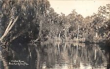 c.1910's RPPC Reflections on Cootee River New Port Richey FL