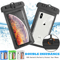 Swim Waterproof Pouch Dry Bag Case Phone Holder For iPhone Samsung LG Cell Phone