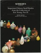 Chinese Snuff Bottles - Eric Young Collection Part IV - Sotheby's 1993 Catalog
