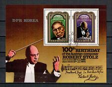 Corea, 100. nascita di Robert orgoglio MiNr. 2077 - 2078 piccoli archi, 1980 used