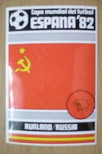 1982 COPA MUNDIAL DEL FUTBOL STICKER- RUBLAND/ RUSSIA- ESPANA 82 (12x8 cm)