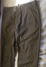 "Marni woman gray cotton flat from cropped pantsSz IT42  6 waist29""hip31"""