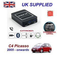 ForCitroen C4 Picasso MusicStream Bluetooth Telephon Charger SD AUX CD ModuleRD4