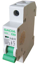 Leitungsschutzschalter GACIA SB6L 1P B13A, Sicherungsautomat MCB