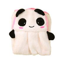 Cute Hand Towel Soft Plush Cartoon Animal Fabric Hanging Wipe Bathing Towel A1145
