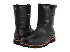 Men UGG Australia Stoneman Waterproof Boot 3247 Black Leather 100% Original New