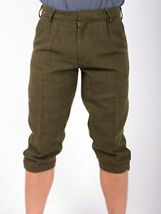 Country Derby Tweed Breeks Shooting Huntsman Breeches Plus Two Trousers