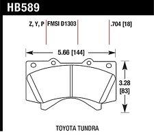 Hawk Perf HB589Y.704 Disc Brake Pad